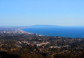 Pacific Palisades Aerial View
